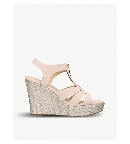 05e19d0e430f MICHAEL MICHAEL KORS Berkley suede wedge sandals (Beige