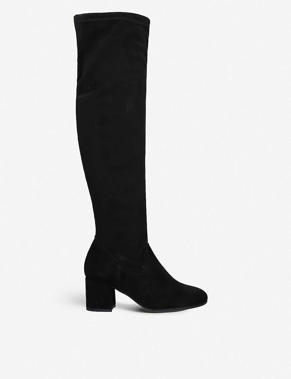 f7366049f4b CARVELA COMFORT - Volt suede over-the-knee boots | Selfridges.com
