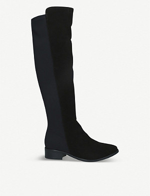 CARVELA COMFORT Vanessa suede knee-high leather boots