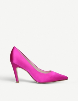 NINE WEST Quintrell satin courts