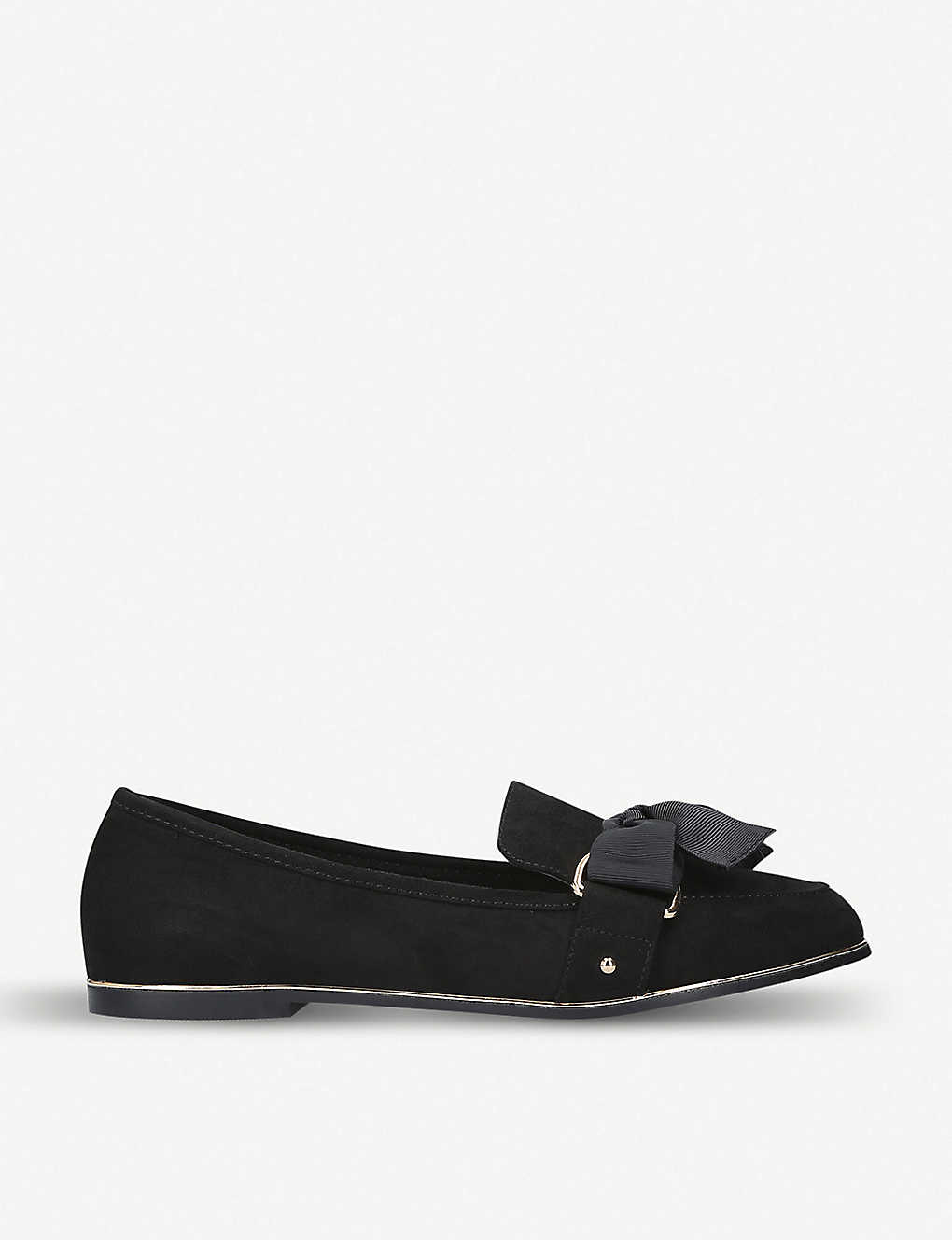 KG KURT GEIGER: Mable suede loafers