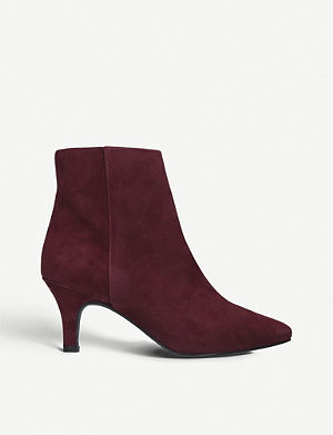 b1b842fc40a1 CARVELA COMFORT - Rally suede wedge-heel ankle boots