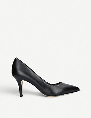 NINE WEST: Flagship 75 faux-leather court shoes