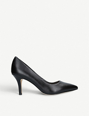 NINE WEST Flagship 75 faux-leather court shoes
