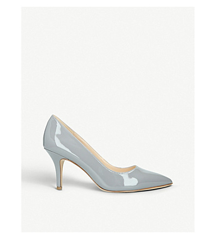 a6bdf543646 NINE WEST Flagship 75 varnished court shoes (Grey