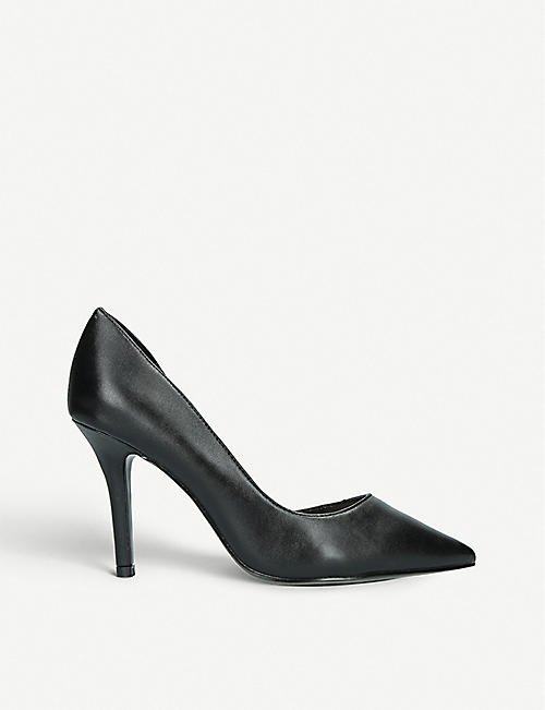 8668ab0199f NINE WEST Just4You d Orsay faux-leather court shoes