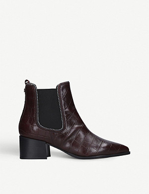 CARVELA Spire leather studded Chelsea boots