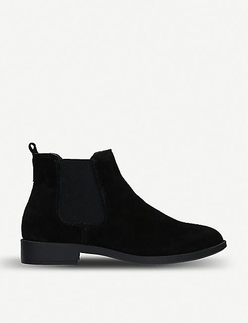 b358435706f87 KG KURT GEIGER Tamsin suede chelsea boots