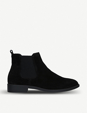 KG KURT GEIGER Tamsin suede chelsea boots