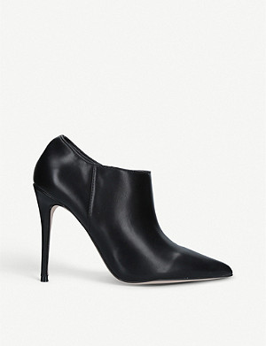 KG KURT GEIGER Alec faux-leather shoe boots