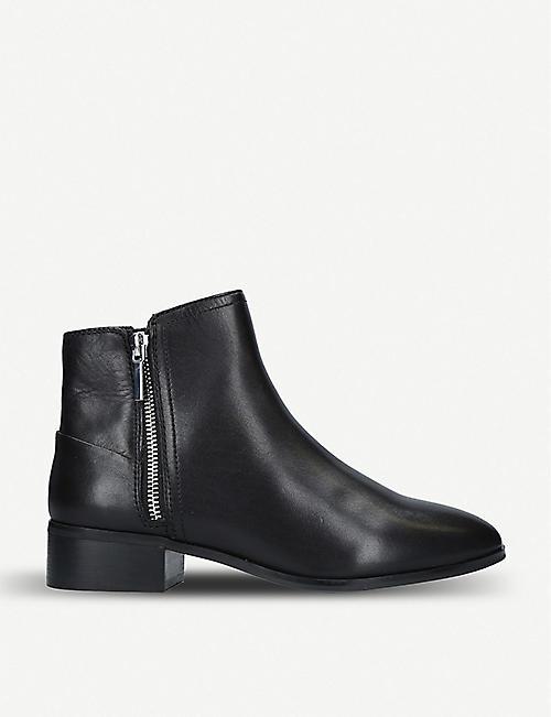 87b76f55d667 ALDO Adryssa leather ankle boots