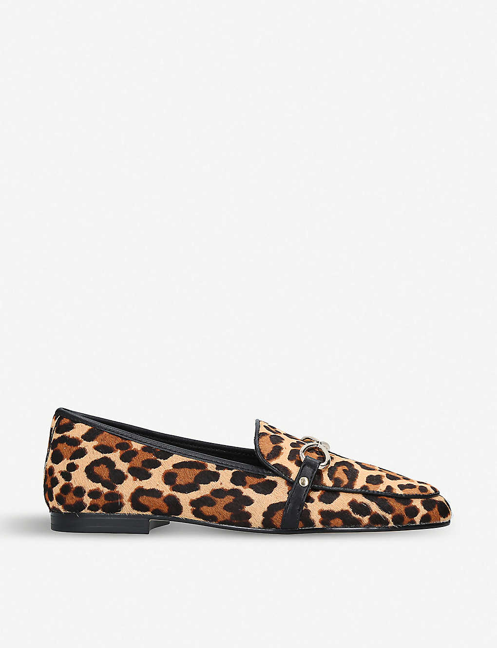 0e53ac4472d ... Afaucia leopard calf-hair loafers zoom ...