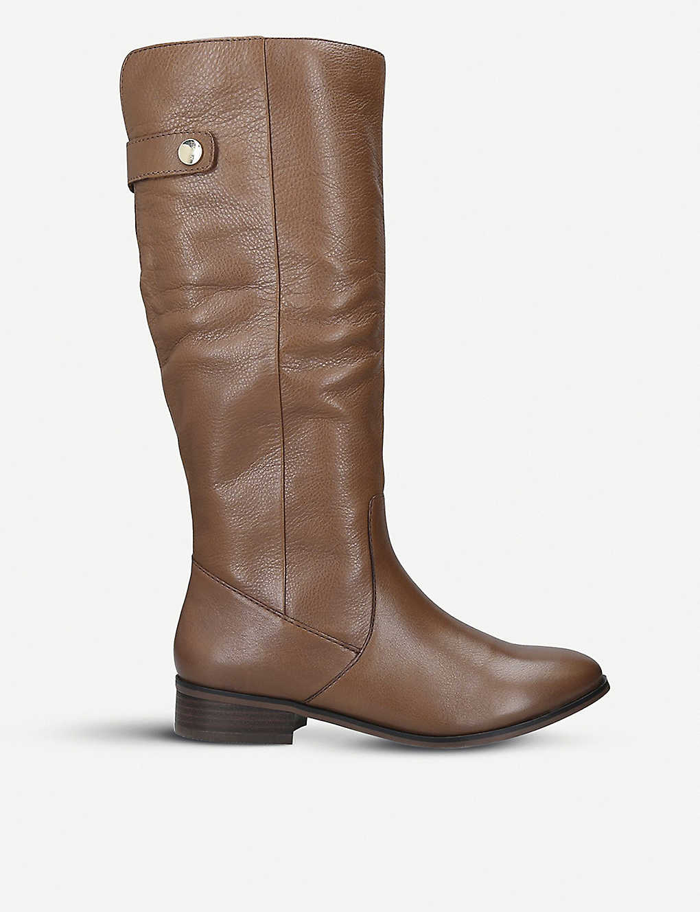f07db5685645 Ginnis leather knee-high boots - Tan ...