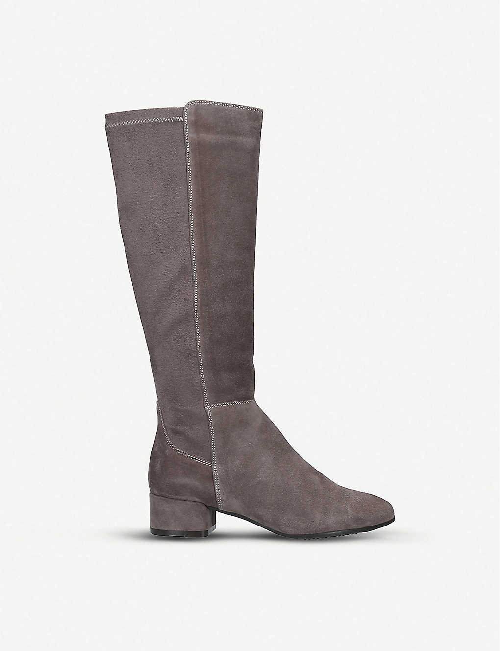 ALDO: Thenalla leather and suede knee-high boots