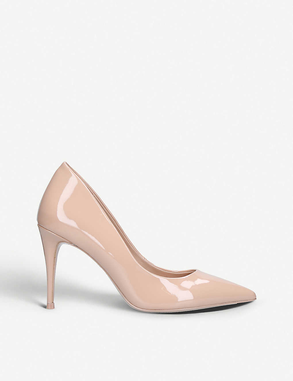 1cbb3a2f5ab6 Tracey patent leather courts - Nude ...