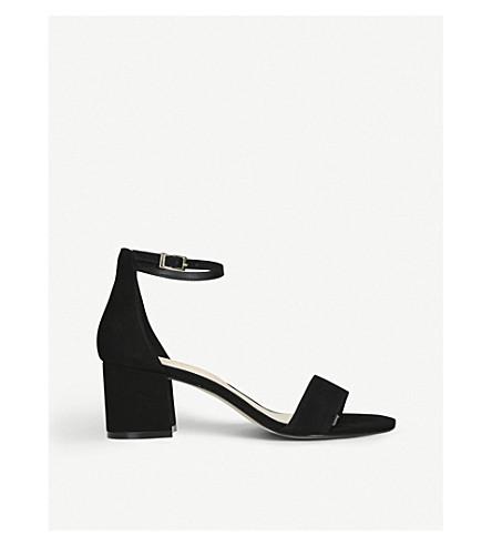 ALDO Villarosa suede heeled sandals (Black