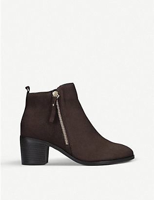 NINE WEST: Charm leather ankle boots