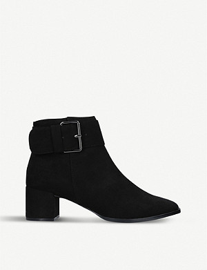 NINE WEST Castle suedette ankle boots