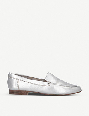 ALDO Joeya metallic leather loafers
