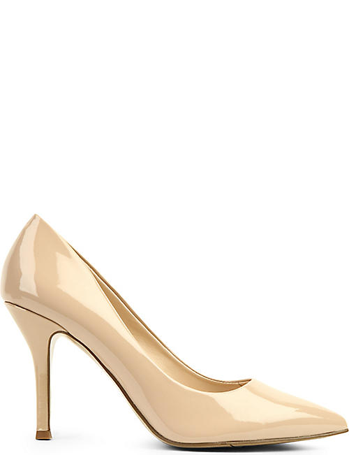 921dc0884c0 NINE WEST Flax patent-leather courts