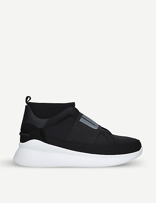 a9c9b75d71d9f UGG Neutra leather and neoprene trainers