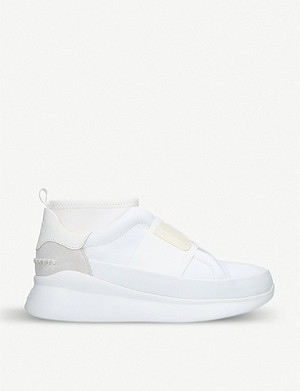 UGG Neutra leather and neoprene trainers