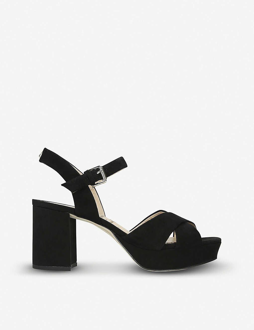551e540a4fd6 SAM EDELMAN - Jolene suede platform sandals