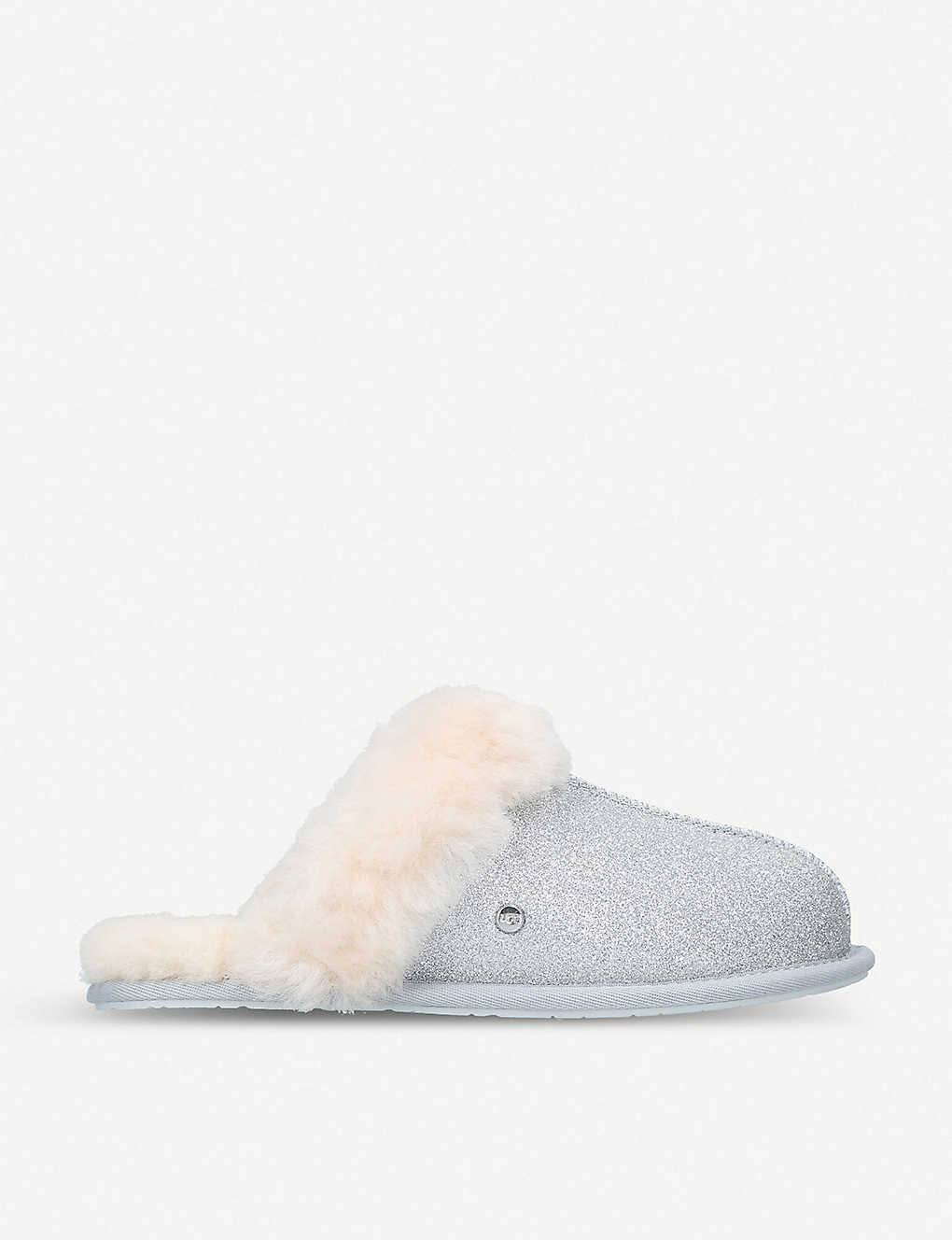 0c315ba82 UGG - Scuffette II shearling-lined glitter slippers | Selfridges.com