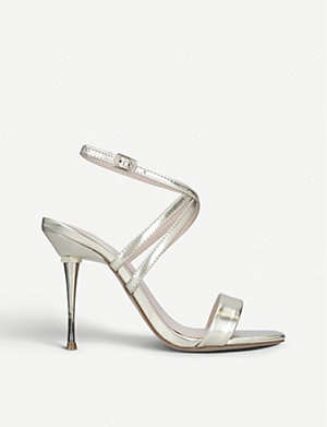 beautiful style various colors factory price CARVELA - Glimmer leather sandals | Selfridges.com