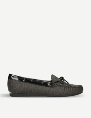 MICHAEL MICHAEL KORS Sutton leather moccasins