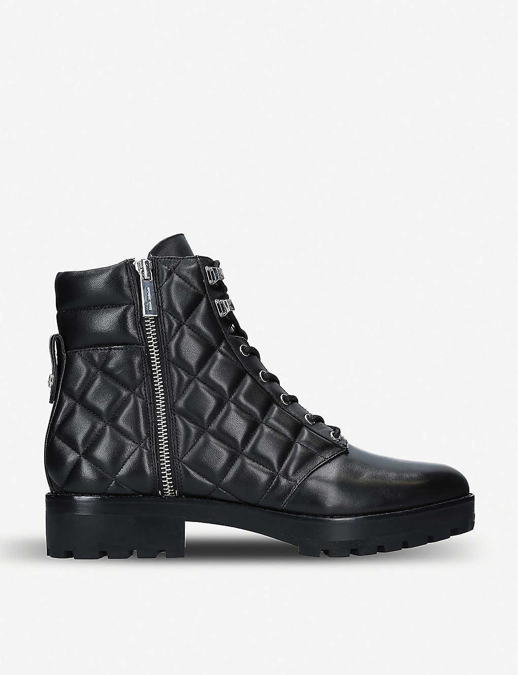 ce5d1bd654c MICHAEL MICHAEL KORS - Rosario leather combat boots | Selfridges.com