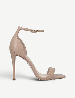 KG KURT GEIGER Ali faux-leather heeled sandals