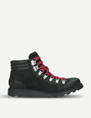 SOREL Ainsley™ Conquest waterproof leather and suede boots
