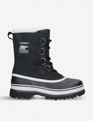 SOREL Caribou nubuck leather snow boot