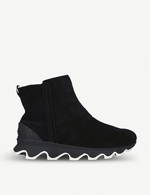SOREL Kinetic suede ankle boots