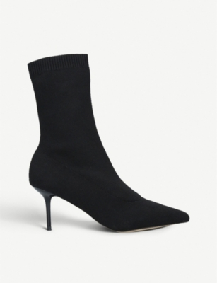 ALDO Oliewet stretch-knit sock boots