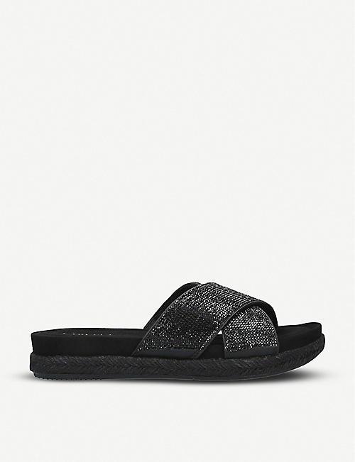 d8c080c95 CARVELA COMFORT Sian crystal-embellished espadrille sandals