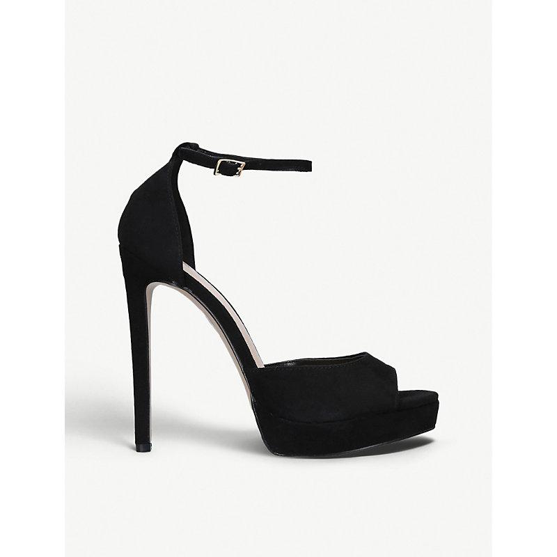 CARVELA | Lopez Faux-Leather Sandals | Goxip