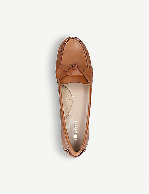 NINE WEST Layce leather loafers