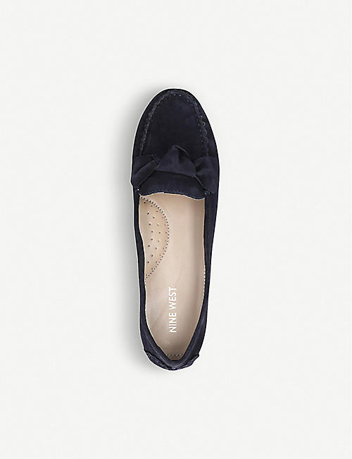 NINE WEST Layce suede loafers