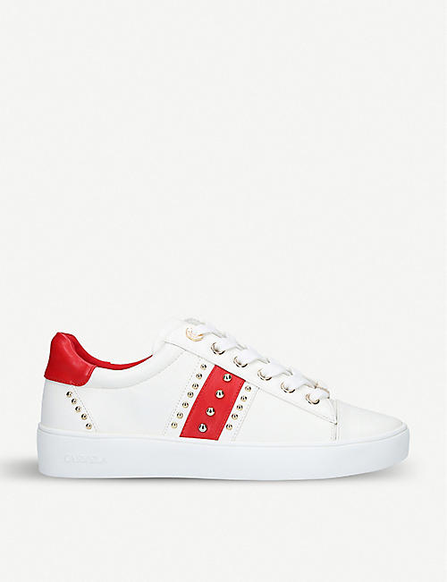 8cfbd2aedae0 CARVELA Jargon embellished contrast-trim low-top trainers