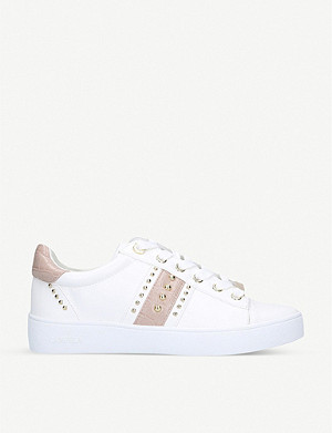 CARVELA Jargon faux-leather low-top trainers