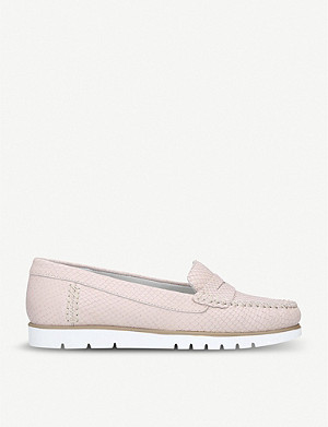 CARVELA COMFORT Cath croc-embossed leather loafers