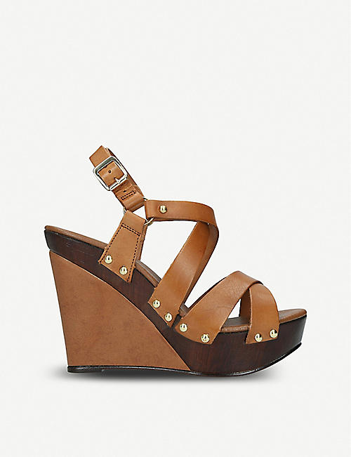 6238a3f5ca35 CARVELA Kassandra leather wedge sandals