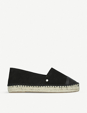 KG KURT GEIGER Destiny leather espadrilles