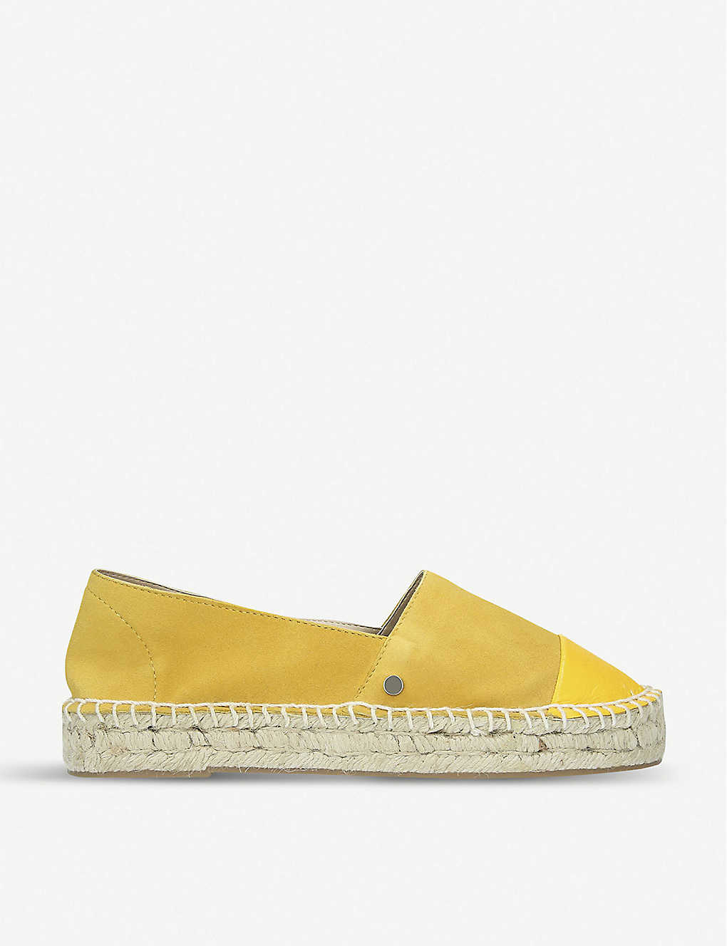 KG KURT GEIGER: Destiny leather espadrilles