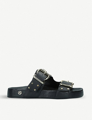 KG KURT GEIGER Rhian leather sandals