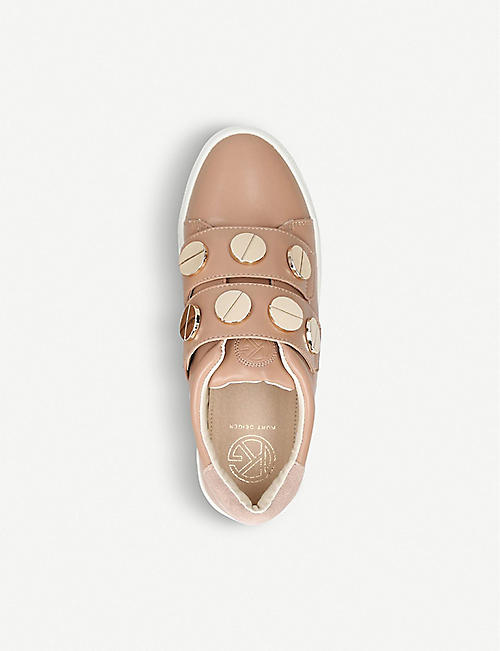 KG KURT GEIGER Linti faux-leather trainers