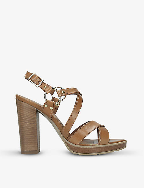 CARVELA Karmen leather heeled sandals