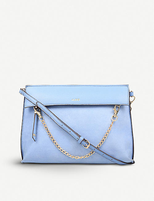 d5839d26ee0c ALDO Asiasien faux-leather and suedette clutch